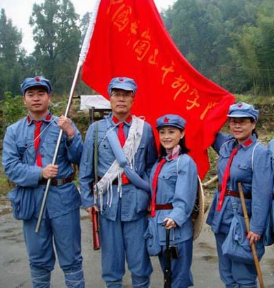 红色之旅团建拓展-红色党