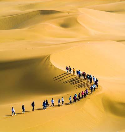 沙漠团建拓展