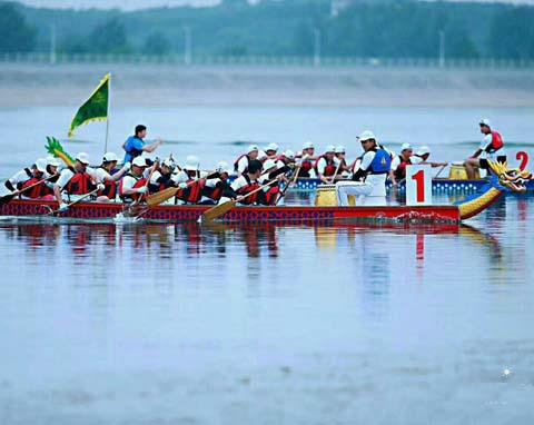 龙舟体验赛