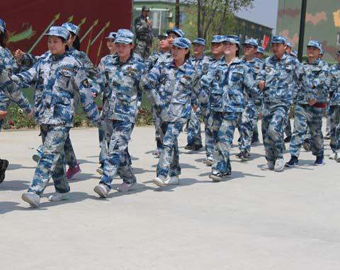 人民国胎集团军事拓展训练