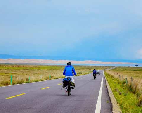 青海湖骑行体验